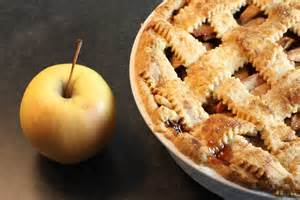 fashioned lattice top apple pie look then cook