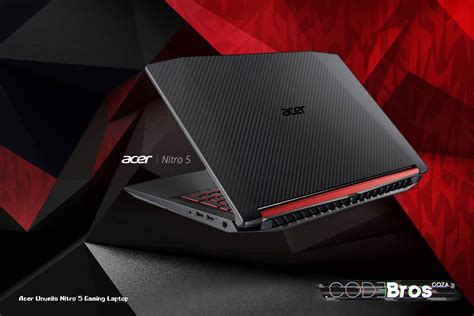 acer unveils  nitro  gaming laptop codebros