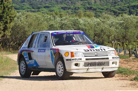 peugeot 205 turbo 16 evo 1984 peugeot 205 turbo 16 evo 1 groupe b ex works