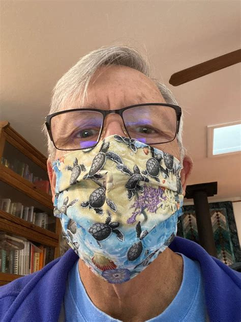 locals sew face masks  fight covid