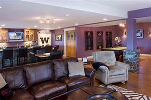 Home Sports Bar - Contemporary - Basement - seattle - by