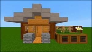 Comment Faire Une Maison : minecraft tuto comment faire une maison en survie doovi ~ Dallasstarsshop.com Idées de Décoration