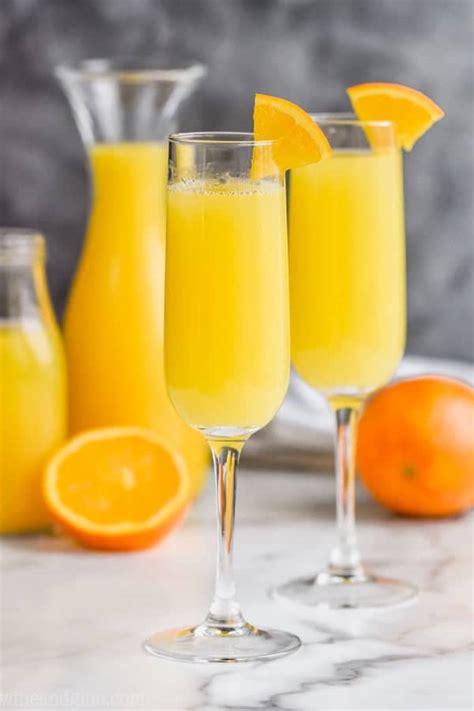 alcoholic mimosa wine glue