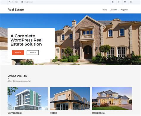 Real Estate Themes 20 Best Free Real Estate Themes Dartthemes