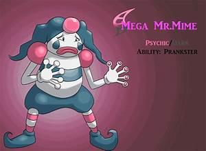 Mega Mr. Mime (gif) by AlphaXXI on DeviantArt
