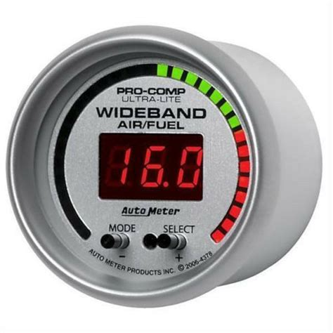 Auto Meter Ultra Lite Wideband Air Fuel Ratio Afr