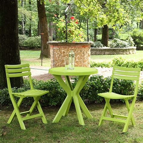 chaise vert anis awesome salon de jardin fundy vert anis contemporary