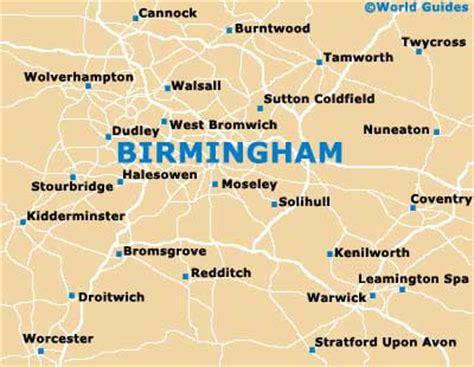 birmingham maps  orientation birmingham west midlands