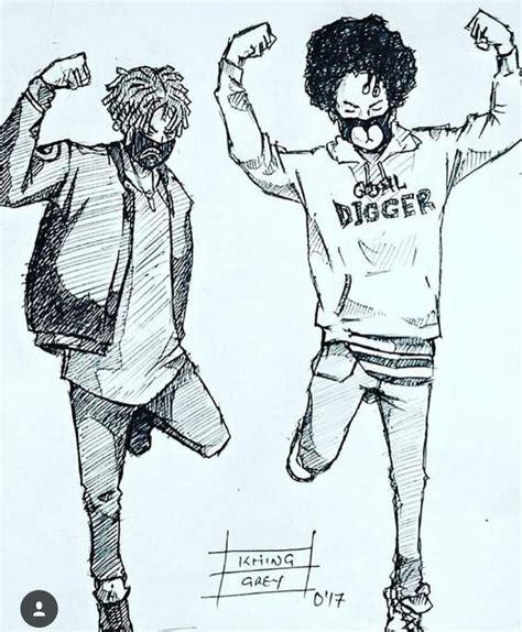 hip hop hip hop   ayo teo rapper art drawings