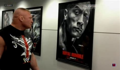 Brock Trashes Triple H's Office