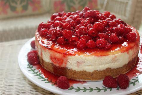 Lemon Raspberry Cheesecake  Perfectly Light On La Bella