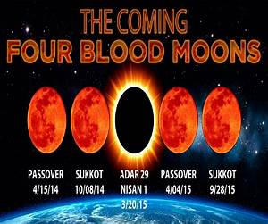Blood Moon Tetrad AND 2 Solar Eclipses Coming, + 6 ...
