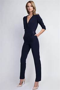 combinaison bleu marine femme tres chic et elegante With vêtements femme chic