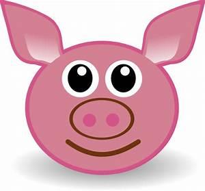 Pig Face Clip Art at Clker.com - vector clip art online ...