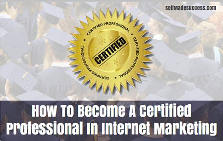 certified marketing professional how to become a certified professional in marketing