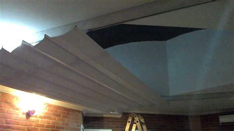 cortina black out para techo motorizada estilo romana