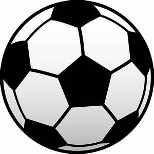 Soccer Clip Art Black And White | Clipart Panda - Free ...