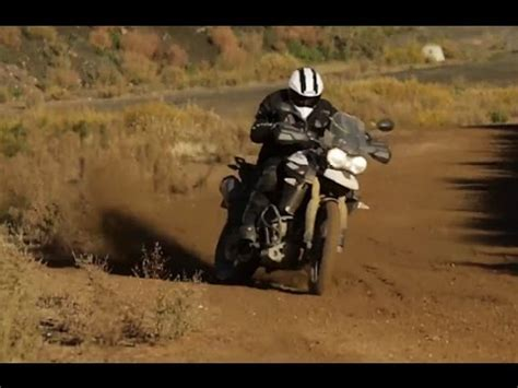 triumph tiger  xc xr xrx xcx  road test youtube