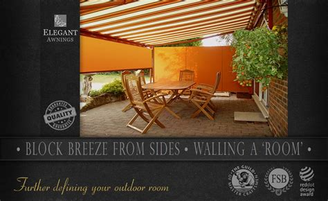 Patio Awning Side Screens