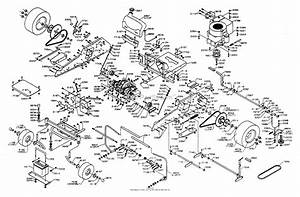 Dixon Ztr 3304  1995  Parts Diagram For Chassis Assembly
