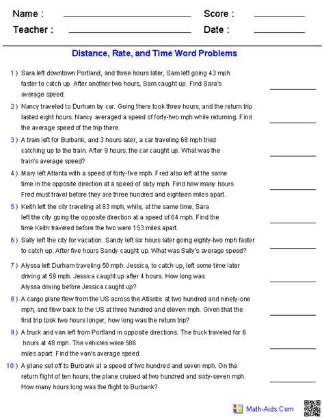 algebra word problems worksheet and answers algebra 1 worksheets word problems worksheets