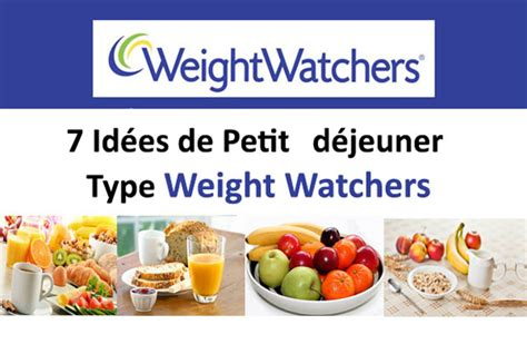 cuisine weight watchers 7 idées de petit déjeuner type weight watchers plat et
