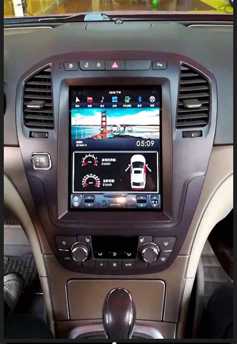 tesla style vertical screen car radio  opel insignia