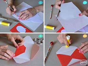 Comment Fabriquer Une Enveloppe : diy faire une enveloppe personnalis e the popcase ~ Melissatoandfro.com Idées de Décoration