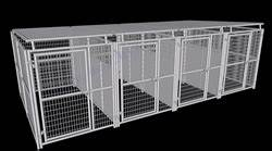 multiple dog kennels 4 run dog kennel w roof shelters With multi run dog kennels