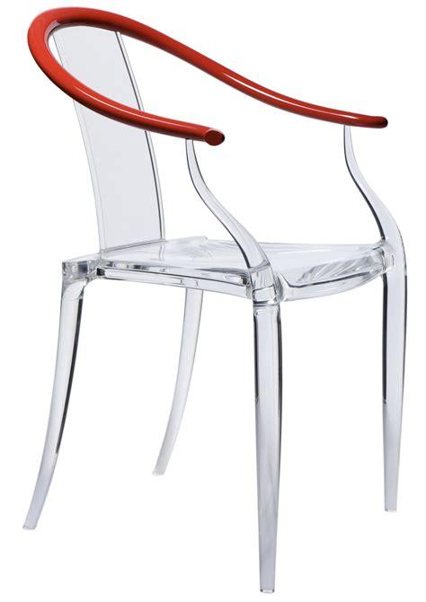 philippe de la chaise la chaise transparente mi ming de philippe stark