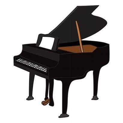 Piano Musical Doodle Instrument Transparent Clipart Silhouette