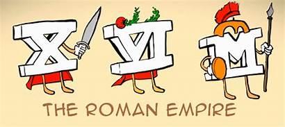 Roman Numeral Clipart Rome Numerals Romans Empire