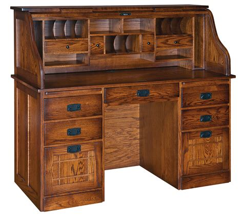 wooden roll top desk roll top desk