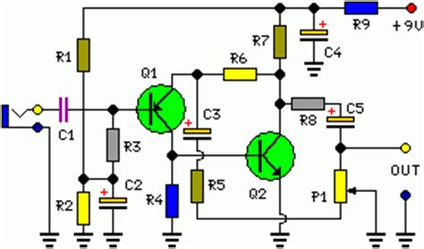 Portable Microphone Preamplifier Circuit Diagram World