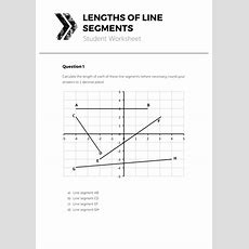 Lengths Of Line Segments  Complete Lesson By Tomotoole  Uk Teaching Resources Tes