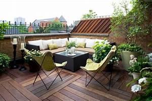 terrasse en bois ou composite idees merveilleuses pour l With amenagement terrasse exterieure design 12 amenagement jardin 105 photos pour votre petit coin de