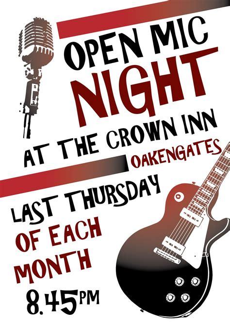foto de local open mic posters Google Search Open mic night