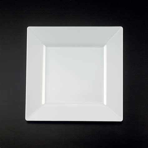 Viereckige Teller by 6 Square White Plate