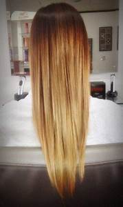 Perfectly straight ombre hair. | HAIR | Pinterest | This ...