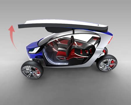 Future Transportation  Viu  3 Wheel Electric Concept Car