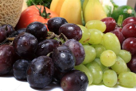 Three Different Types Of Grapes — Stock Photo © Gvictoria