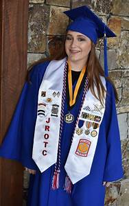 army jrotc graduation stoles