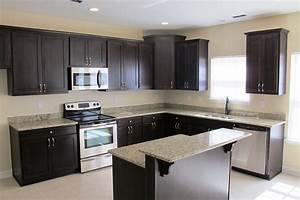 l shaped kitchen with island design railing stairs and With kitchen cabinet trends 2018 combined with skate deck wall art