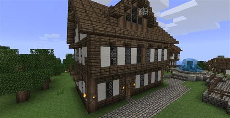 minecraft village house medieval seaside villagetown minecraft project minecraft medieval