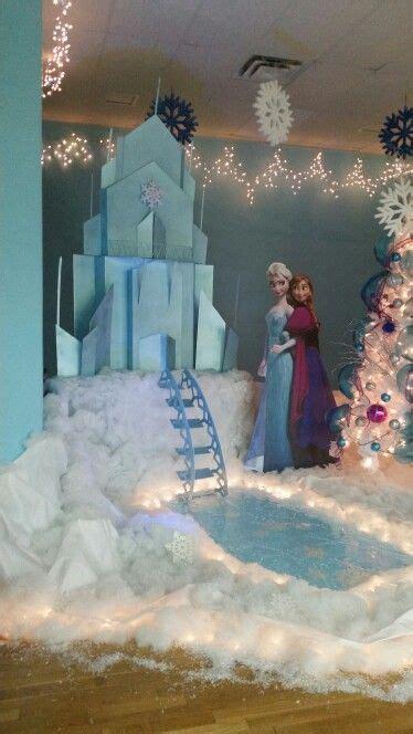 frozen stage decor   frozen party decorations