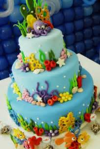 Under the Sea Cake Decorations