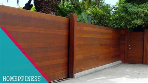 design   modern wood fence ideas youtube