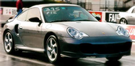 2004 Porsche 911 Turbo 996 1/4 Mile Drag Racing Timeslip