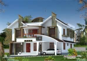 house plans 2 bedroom modern house elevation from kasaragod kerala home