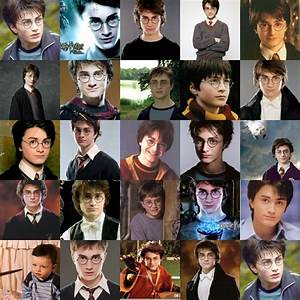 Harry through the years - Harry Potter Photo (15527795 ...